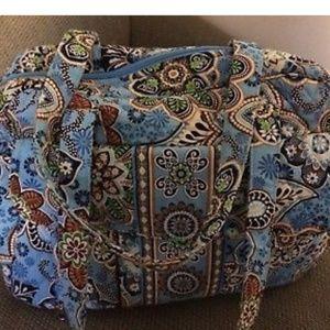 Vera Bradley Bali Blue Diaper Bag